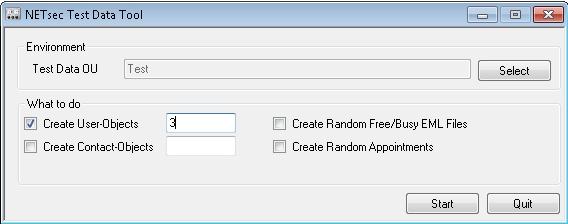 Test Data Tool 1.0