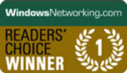 2013 WindowsNetworking - Readers' Choice Winner